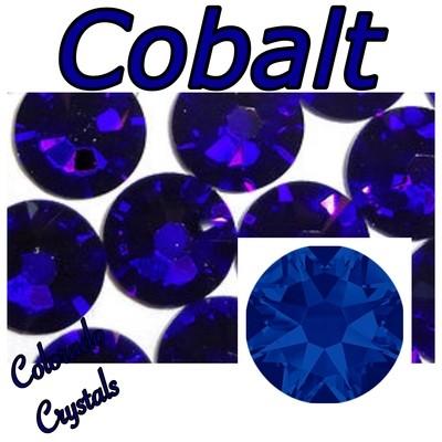 Cobalt 5ss 2058 Limited Swarovski Blue Crystals Tiny Size
