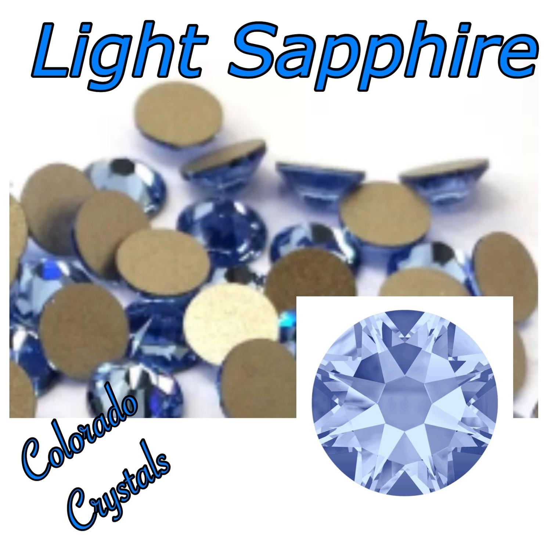 Light Sapphire 7ss 2058 Limited Crystals Swarovski