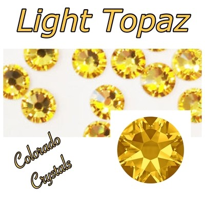 Light Topaz 20ss 2088 Limited Swarovski Rhinestones