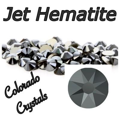 Jet Hematite 7ss 2058 Limited Swarovski Nail Art Size Black
