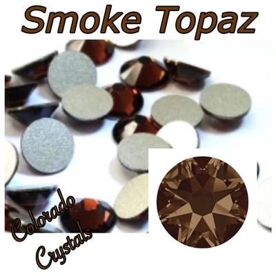 Smoke Topaz 12ss 2088 Swarovski Brown Rhinestones