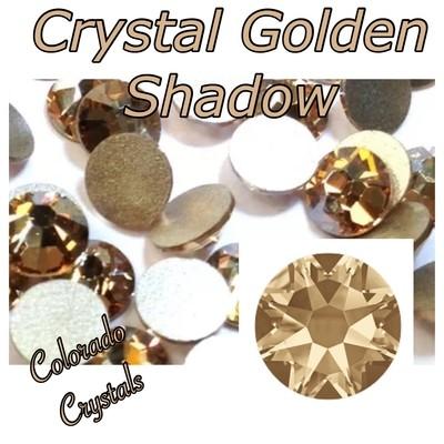 Crystal Golden Shadow 7ss 2058 Swarovski Elements Foiled