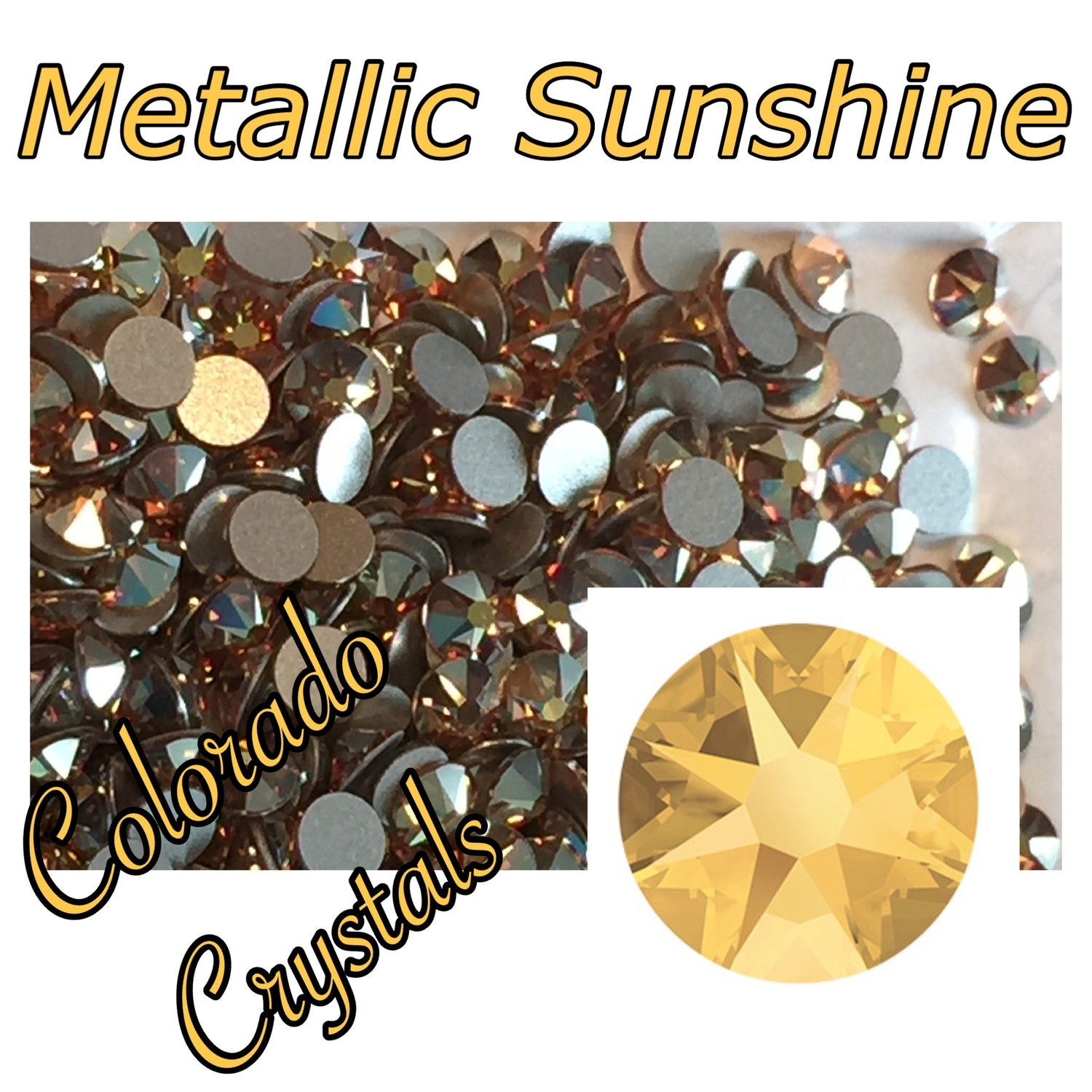 Metallic Sunshine (Crystal) 5ss 2058 Limited