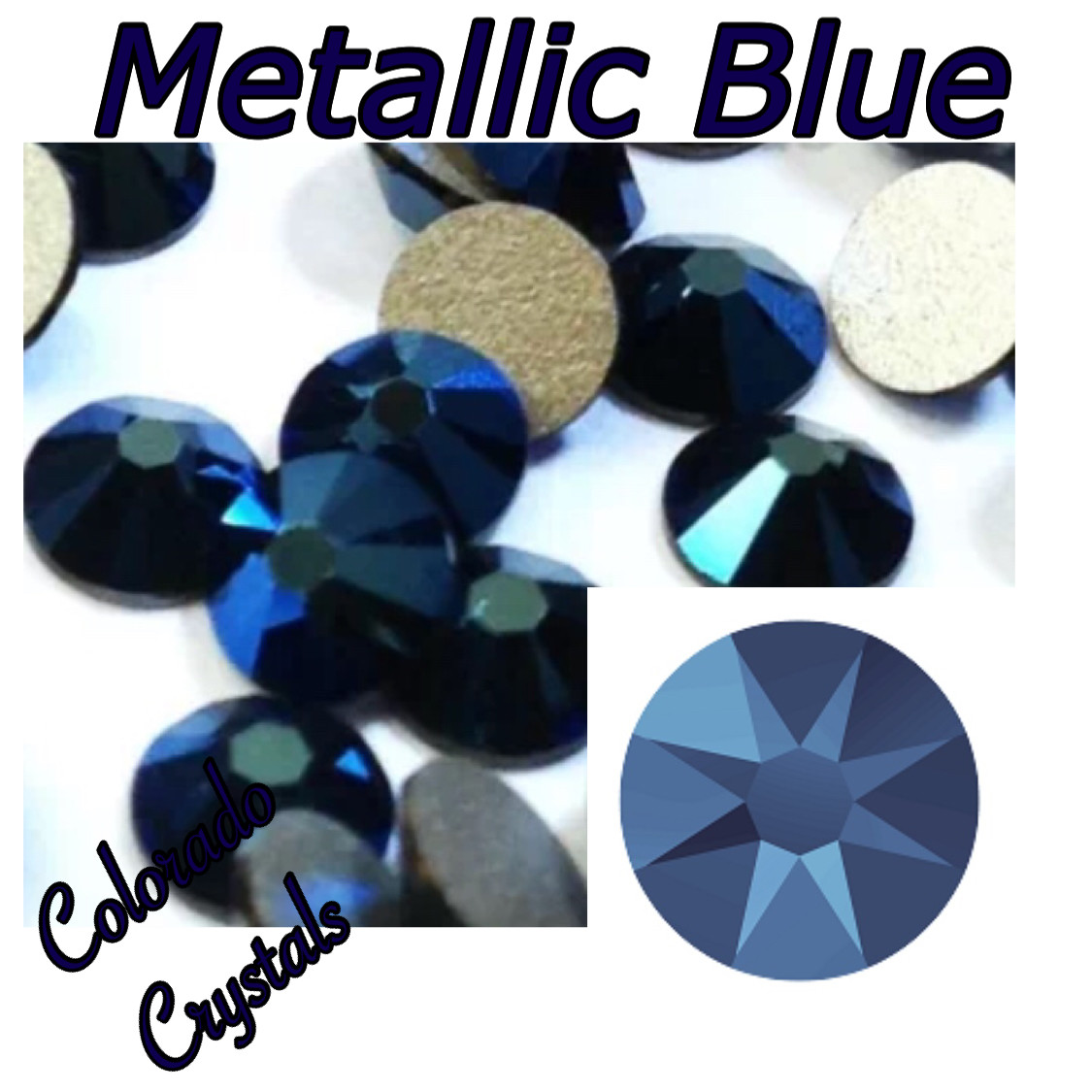 Metallic Blue (Crystal) 5ss 2058 Limited