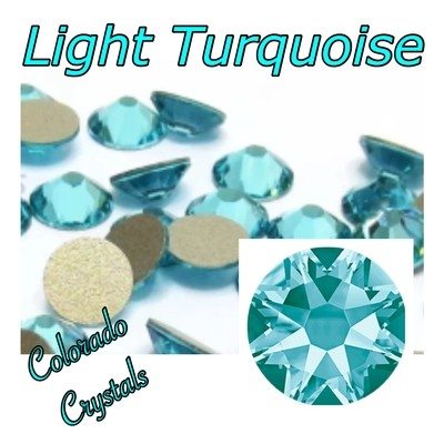 Light Turquoise 12ss 2088 Limited Swarovski Crystals