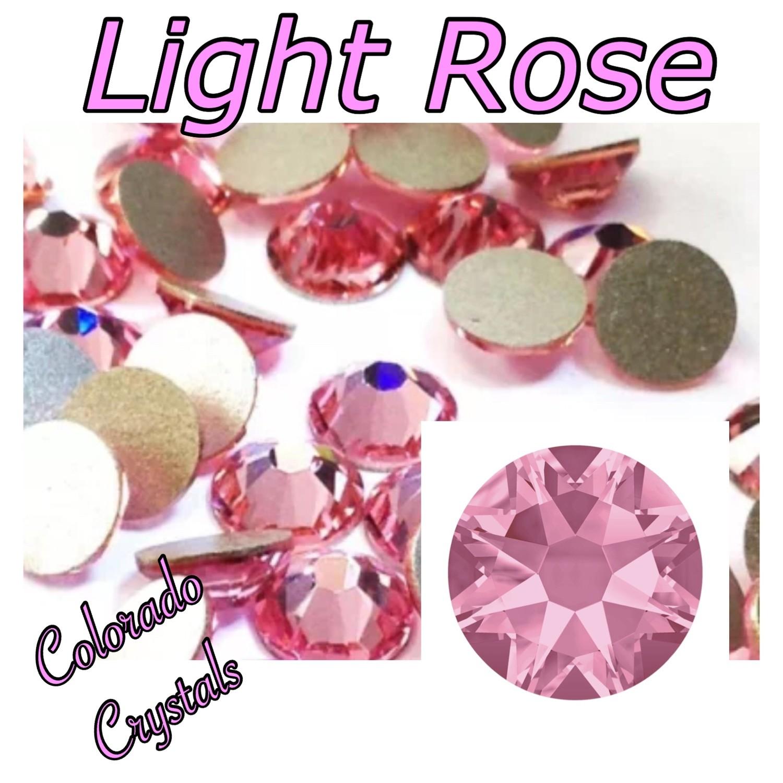 Light Rose 12ss 2088 Limited Swarovski Pink Crystals