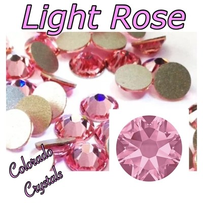 Light Rose 12ss 2088 Limited Swarovski Pink Crystals