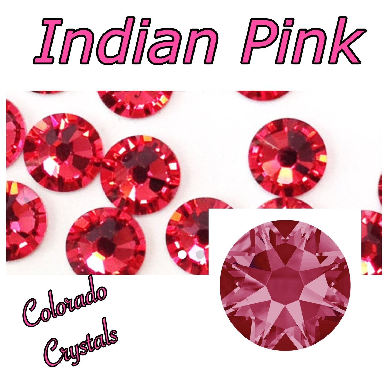 Indian Pink 20ss 2088 Limited Swarovski Rhinestones