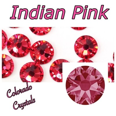 Indian Pink 30ss 2088 Limited Swarovski Flat back rhinestones
