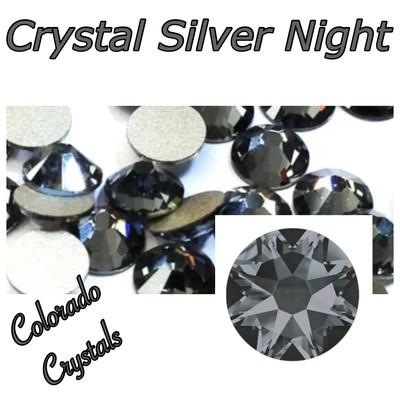 Silver Night (Crystal) 16ss 2088 Swarovski Flat back