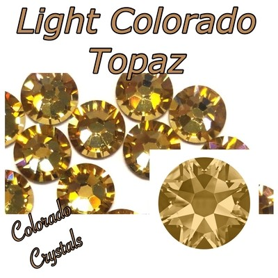 Light Colorado Topaz 7ss 2058 Limited Crystals