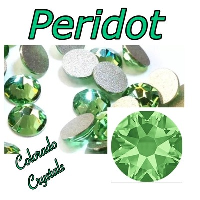 Peridot 5ss 2058 Limited Swarovski Green Small Crystals