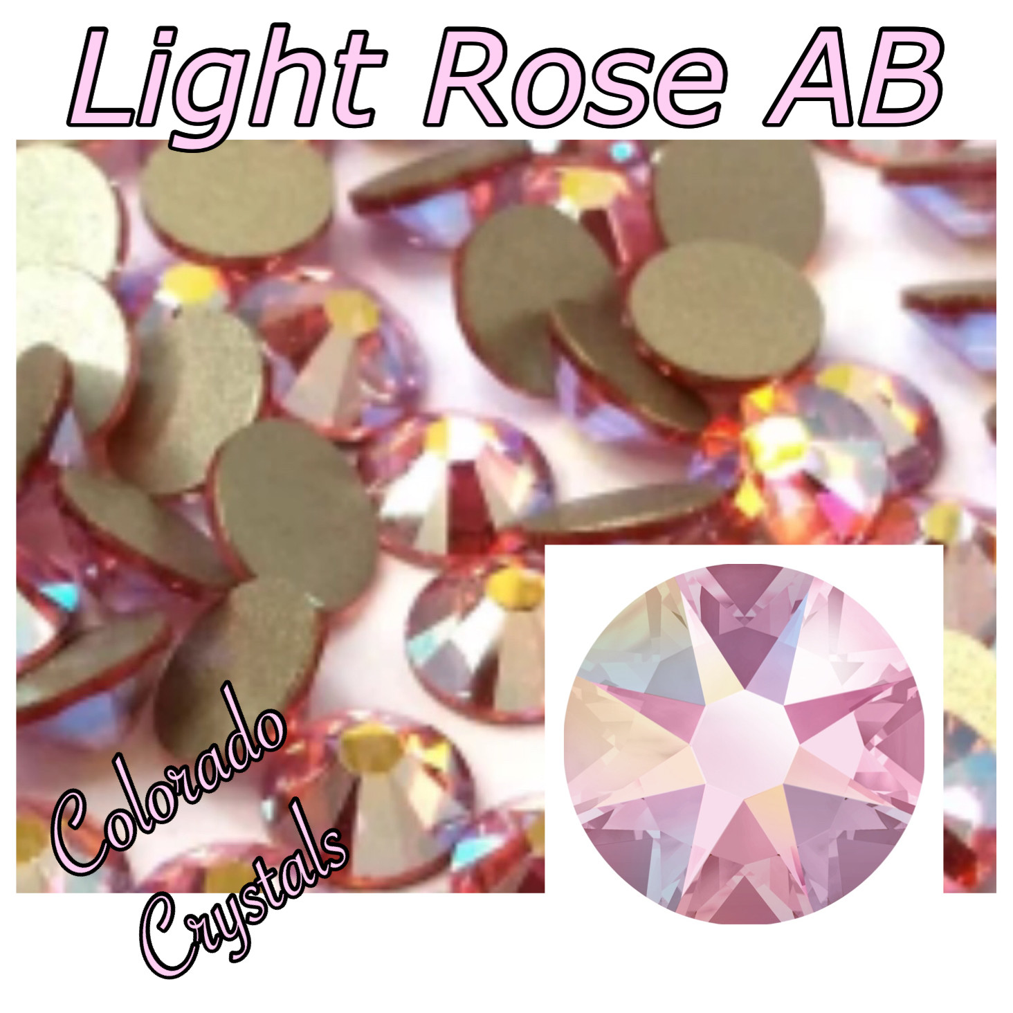 Light Rose AB 5ss 2058 Limited