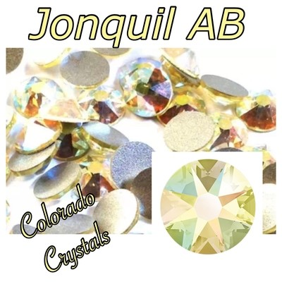 Jonquil AB 5ss 2058 Limited Swarovski pale Yellow rhinestones