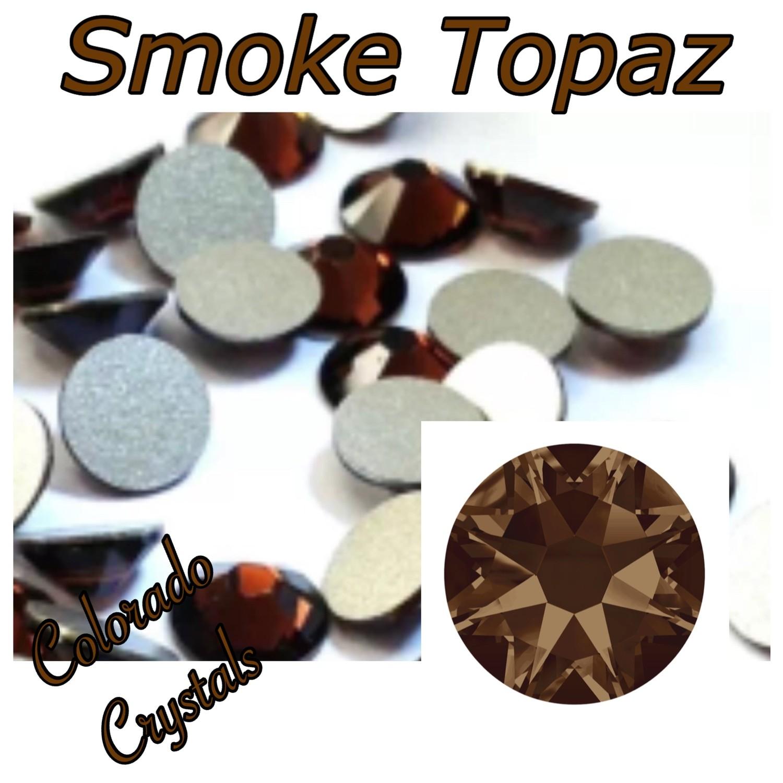 Smoke Topaz 9ss 2058 Limited Swarovski Rhinestones