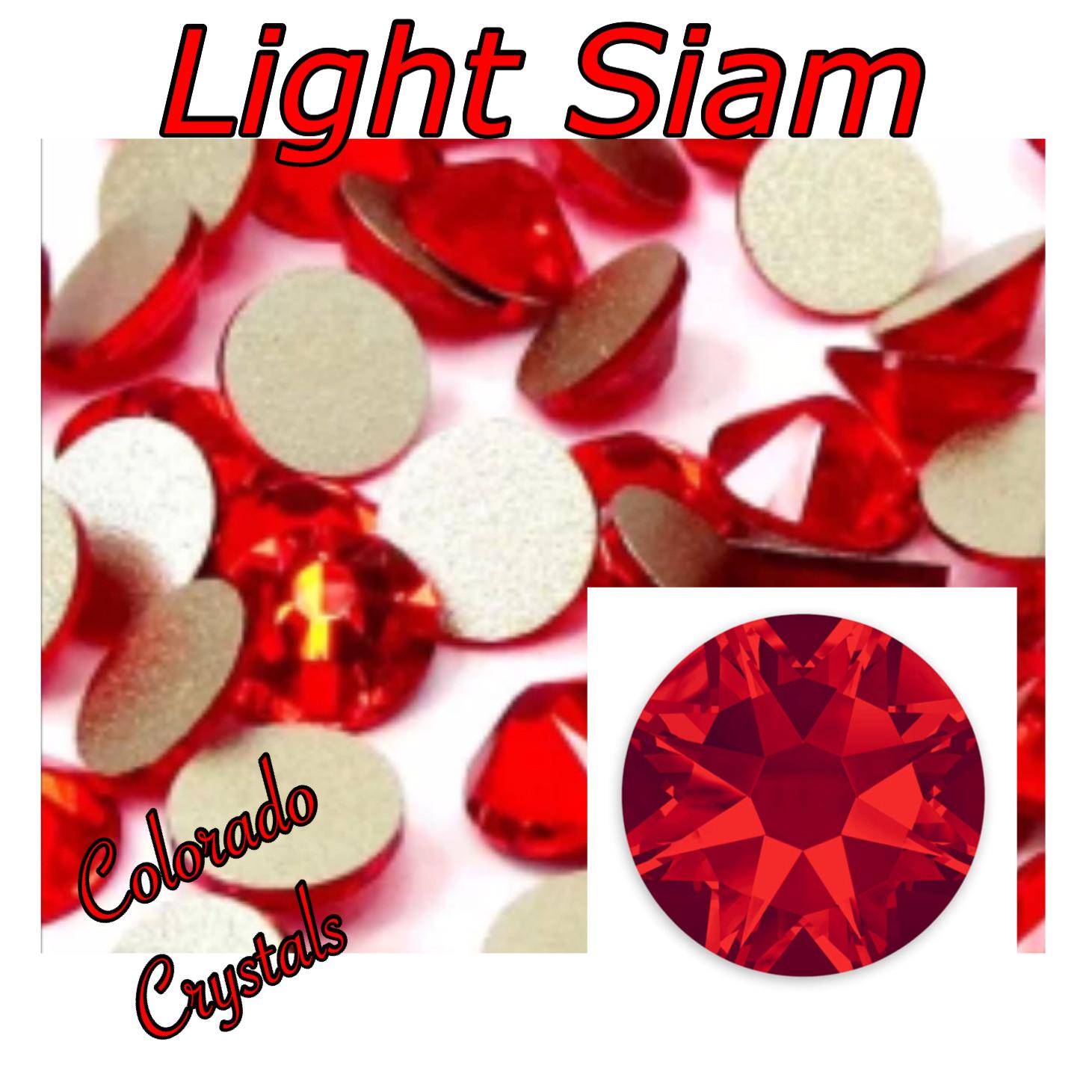 Light Siam 12ss 2088 Limited Swarovski Red Crystals