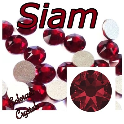 Siam 12ss 2088 Limited Swarovski Red Crystals