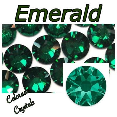 Emerald 9ss 2058 Limited Swarovski Crystals