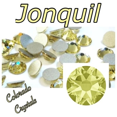 Jonquil 12ss 2088 Limited Swarovski Yellow Rhinestones