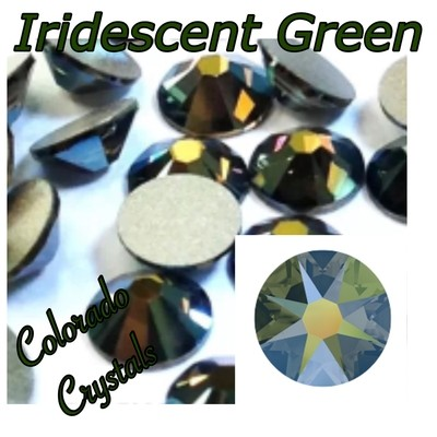 Iridescent Green (Crystal) 12ss 2088