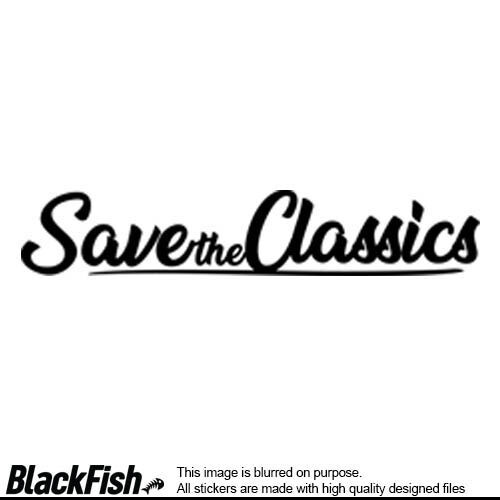 Save The Classics - Written