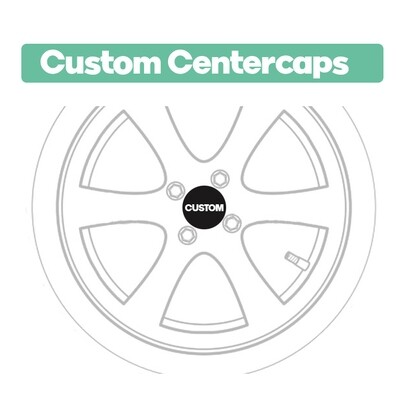 .Custom Centercap Stickers