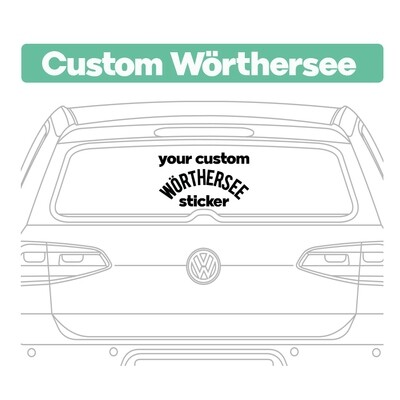 Custom Wörthersee Stickers