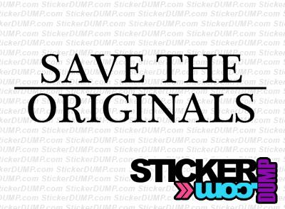 Save The Originals