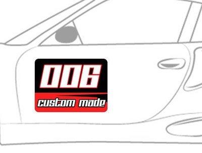 Custom Made Number Plate