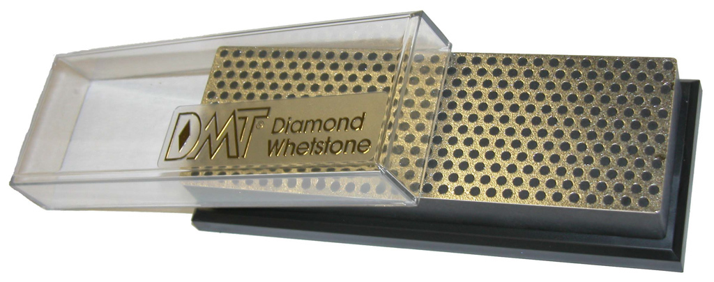 6 inch Diamond Whetstone™ Sharpener Extra Coarse with Plastic Box DMT-W6XP