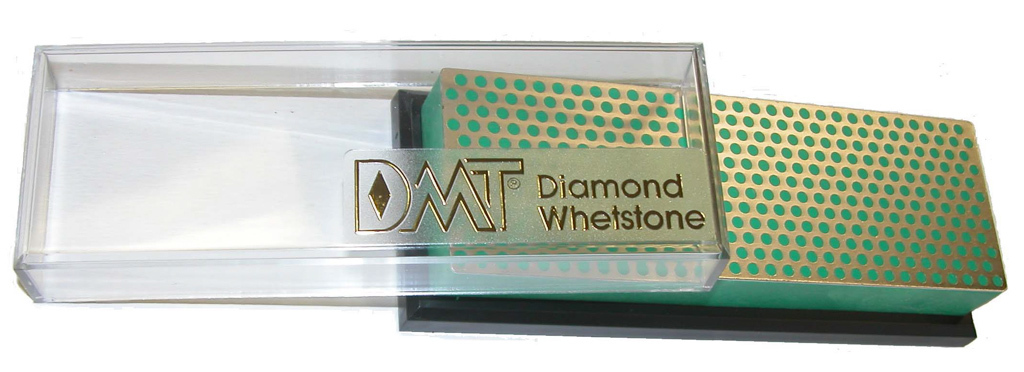 6 inch Diamond Whetstone™ Sharpener Extra Fine with Plastic Box DMT-W6EP
