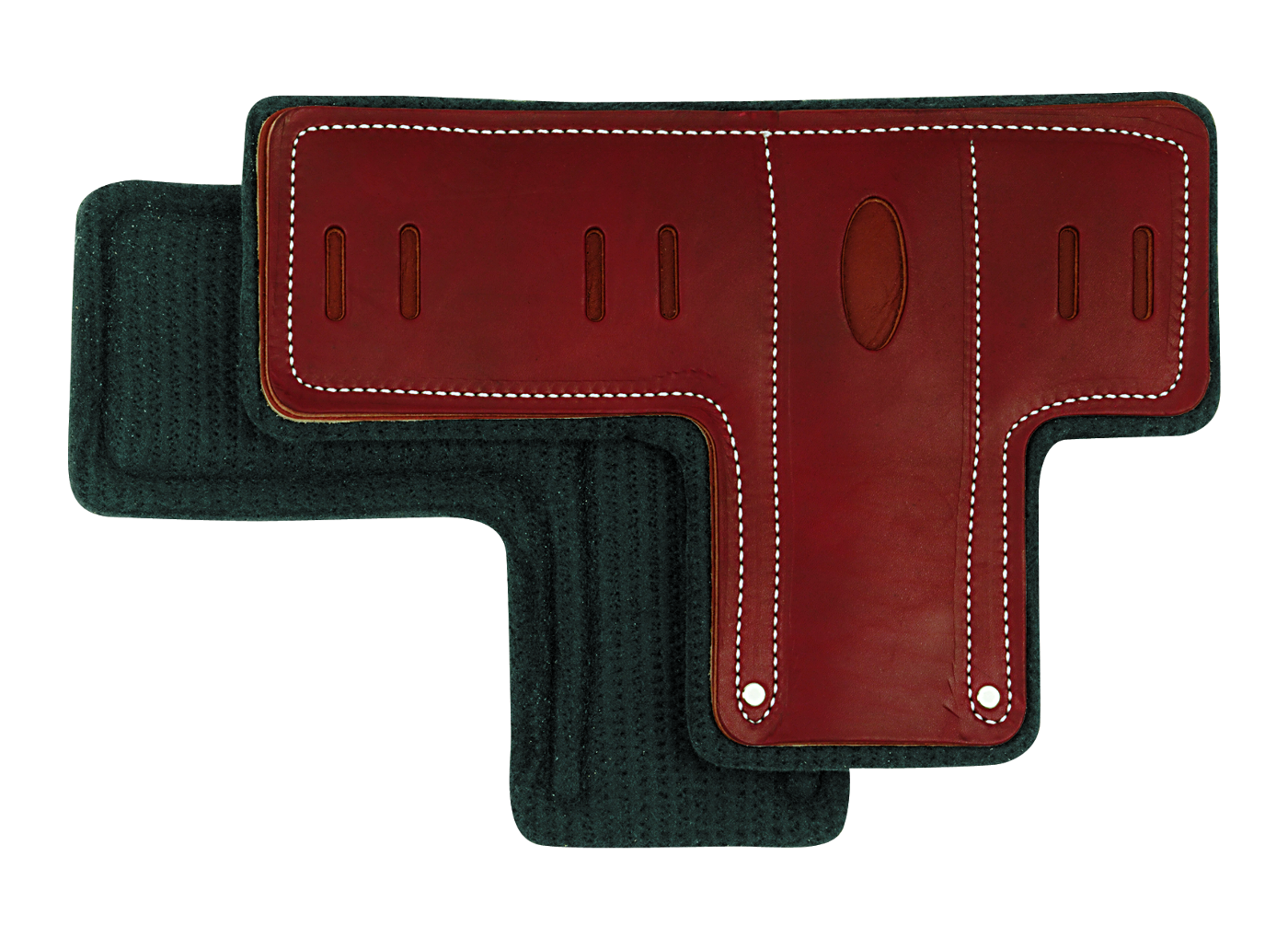 Pair of T-Shaped Climber Pads with Felt Liner WE-08-97156