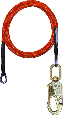 1/2 in x 10' Wire Core Lanyard SP-75002