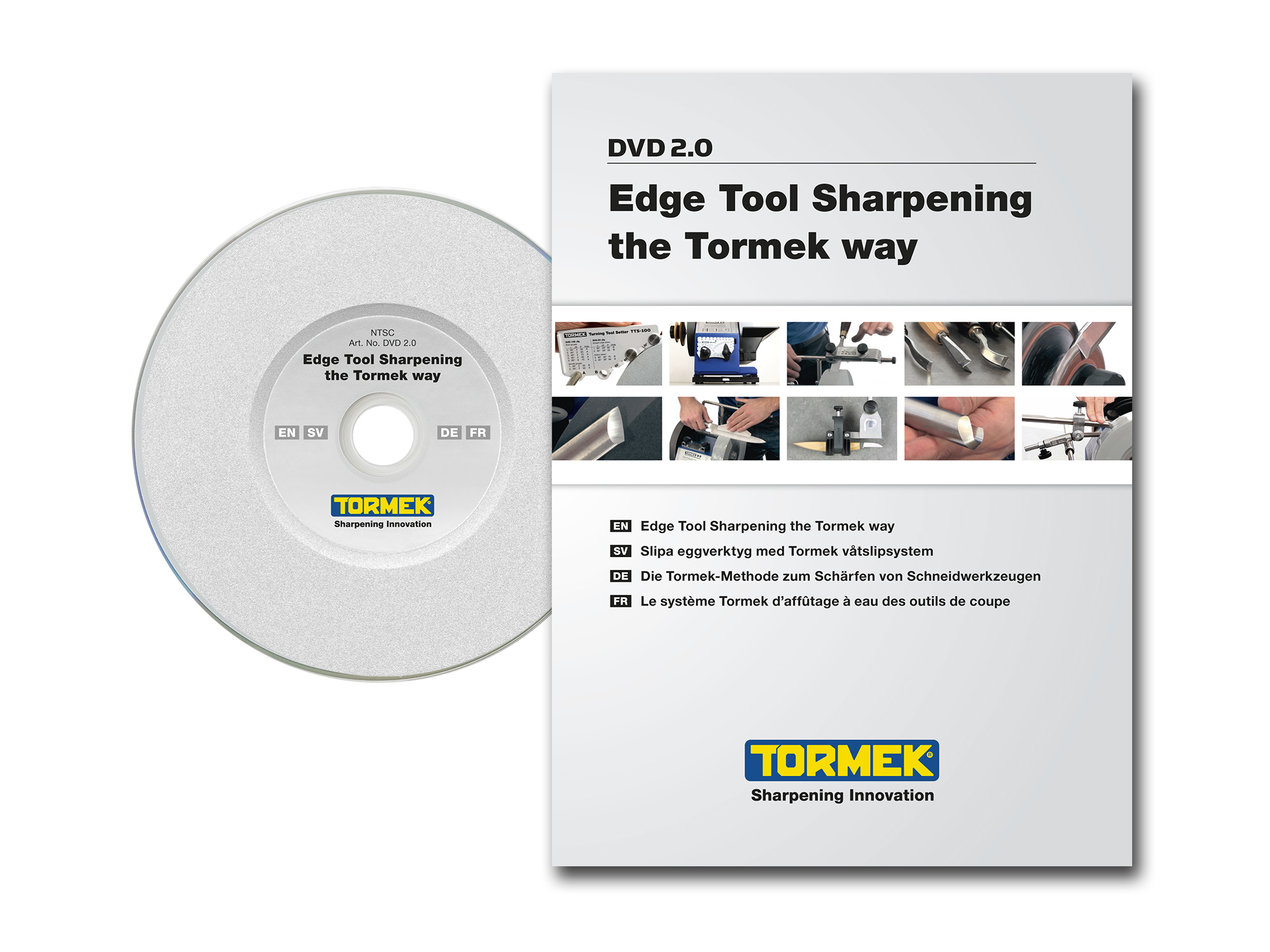 The Tormek DVD TO-DVD-2.0