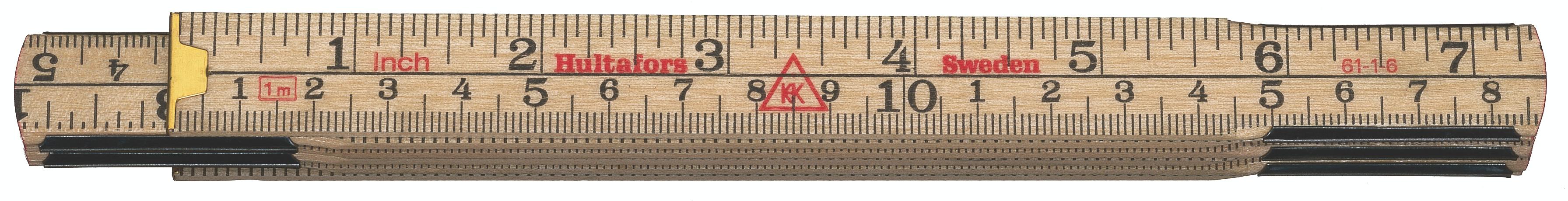 Hultafors Folding Rule 61 — 1m, 6 sections HU-100704