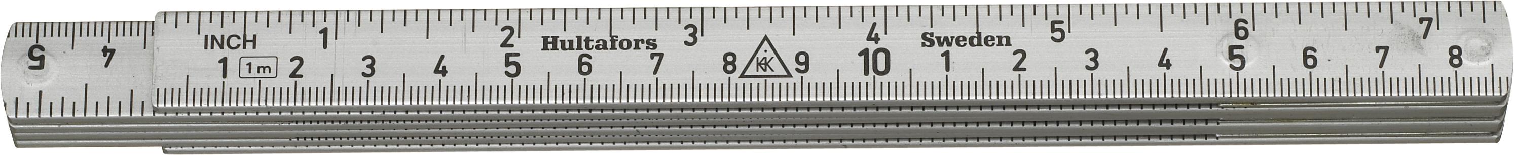 Hultafors Aluminium Folding Rule A61 — 1m, 6 sections HU-150303