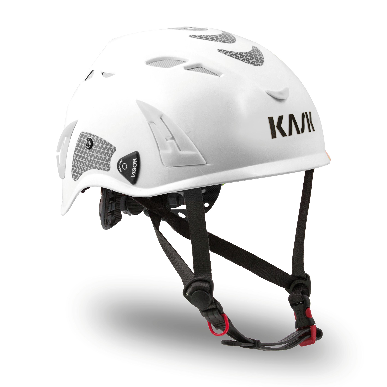 Kask Superplasma HI VIZ Helmet — White KA-WHE00011.201