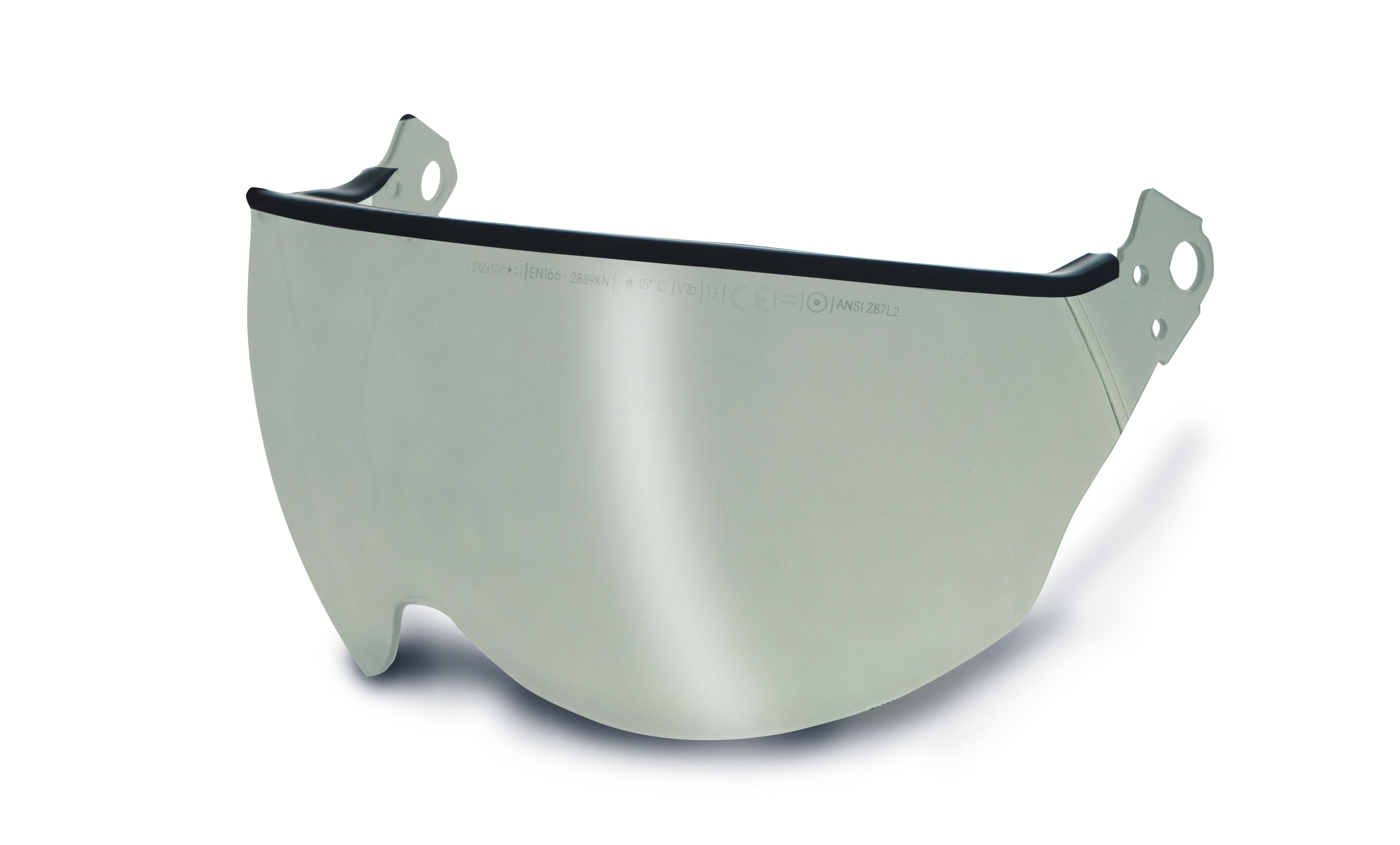 Kask Polycarbonate Visor — Silver Mirror KA-WVI00002.025