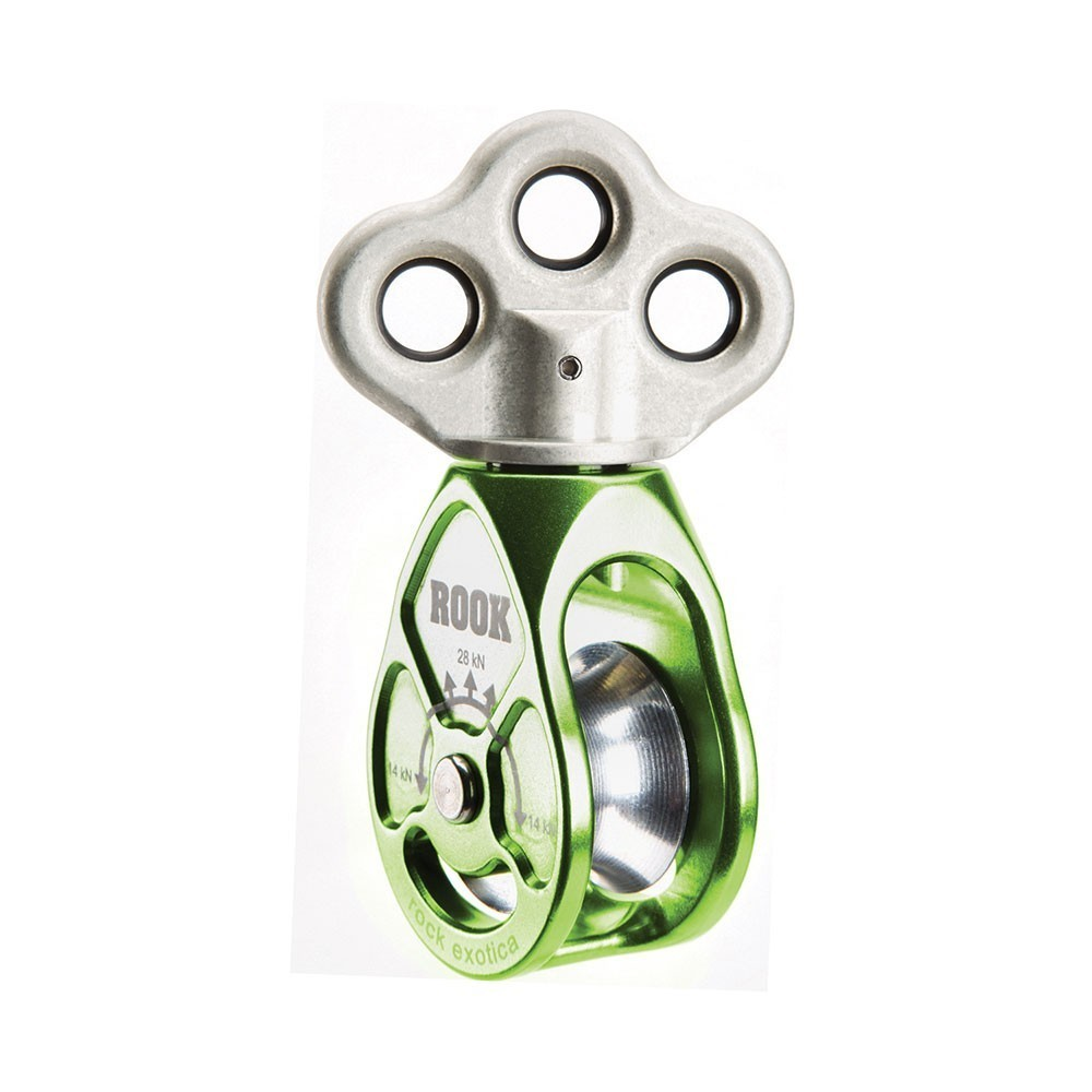 ROOK Triple Attachment Swivel Pulley ST-34201