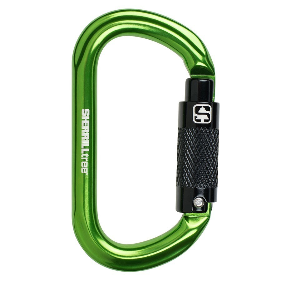 Notch Oval Aluminum Carabiner ST-36677