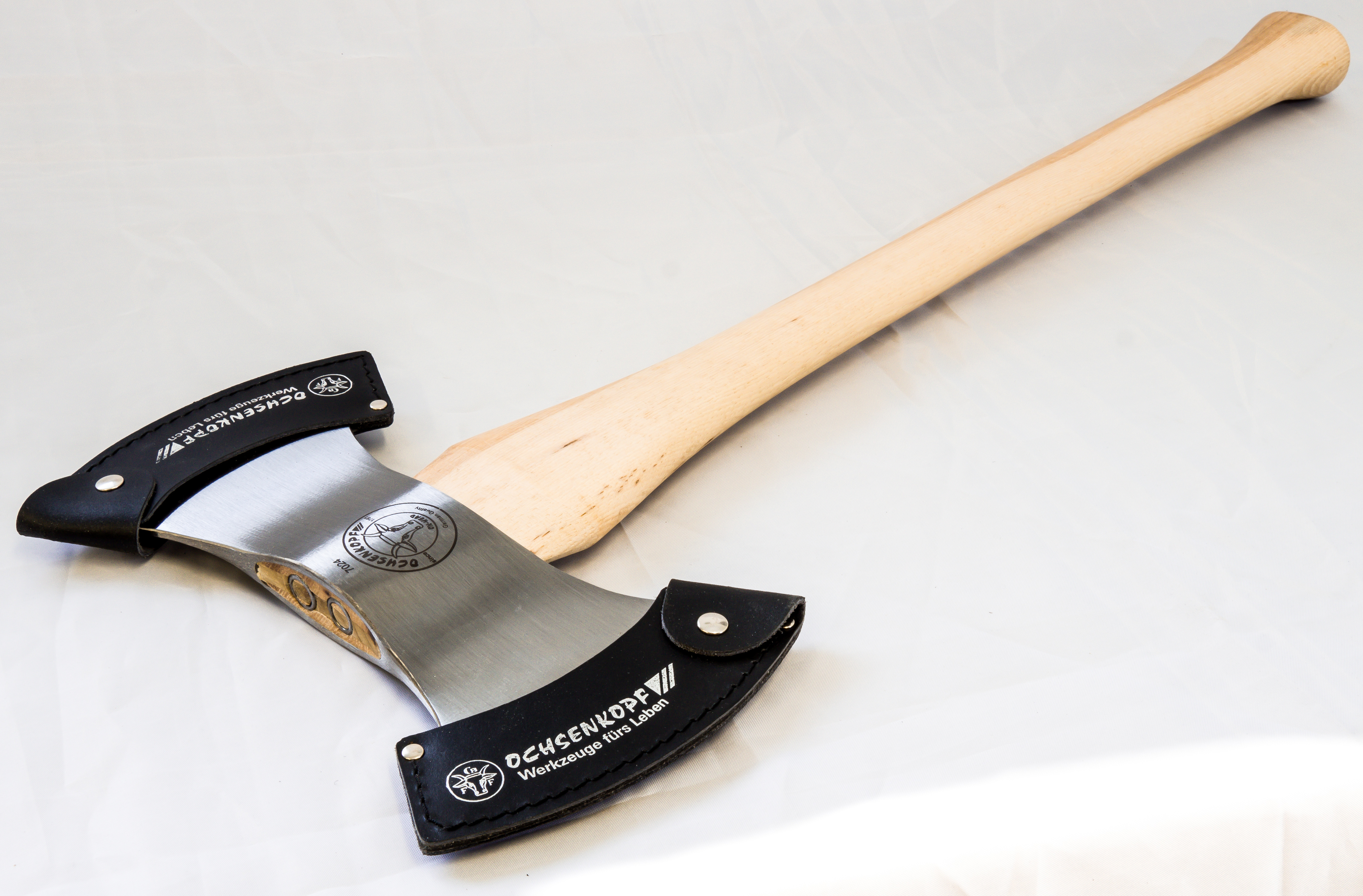 Ox-Head Competition Axe—Double Bit Throwing Axe HJ-OX-18-1200
