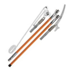 Quick-Change Pole Pruner and Saw Combination Package (fiberglass)