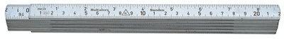 Hultafors Aluminium Folding Rule A61 — 2m, 10 sections