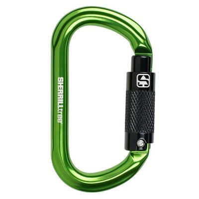 Notch Oval Aluminum Carabiner