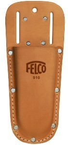 FELCO Leather Holster with belt loop and clip