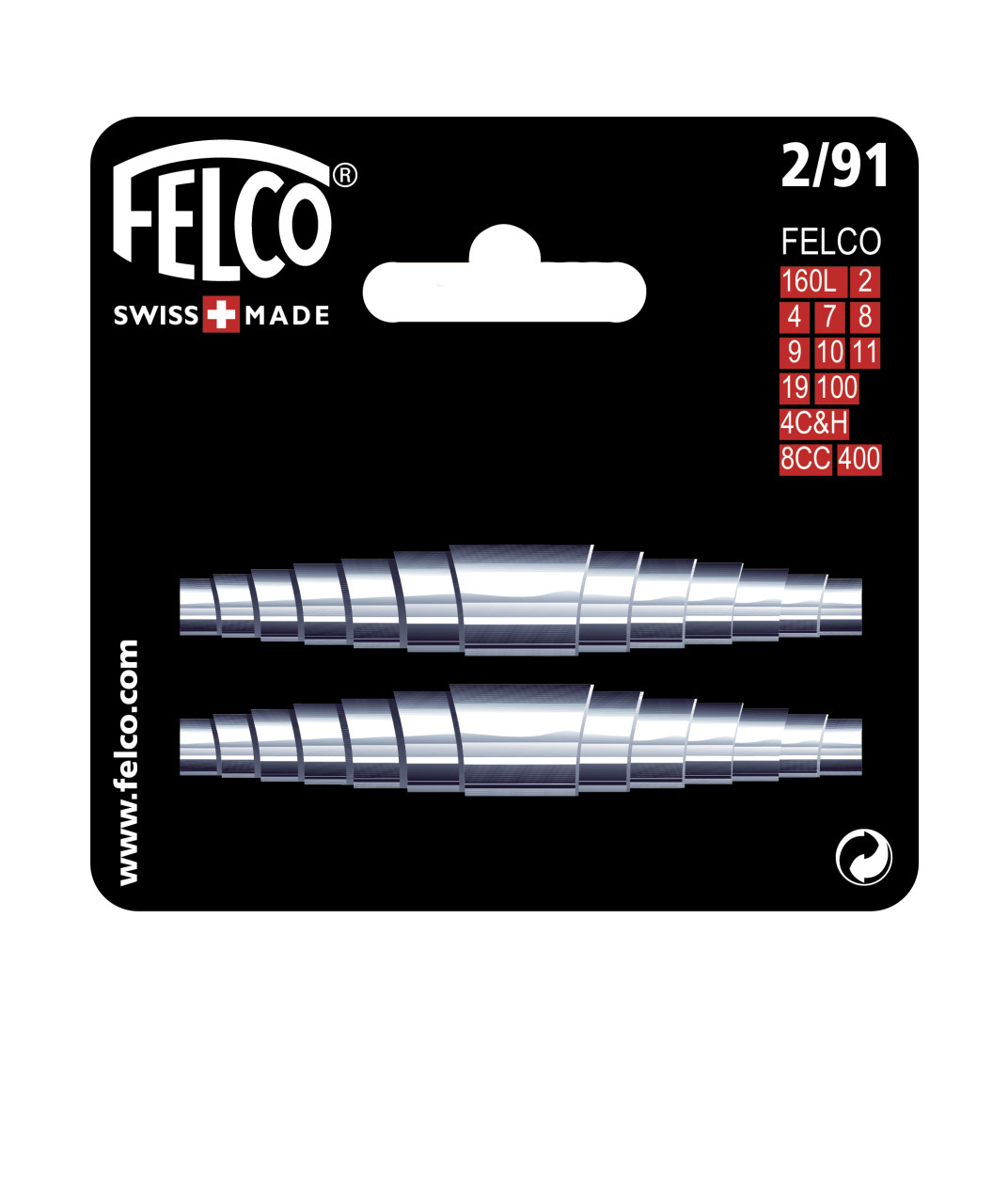Replacement Springs for FELCO F2, F4, F7, F8, F9, F10, F50, F51, F100, F160L FE-2/91