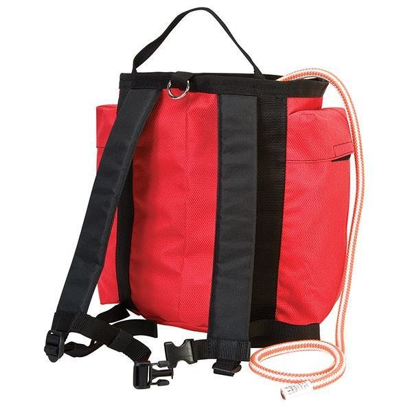 Back Pack Rope Bag, Red WE-08-07180-RD