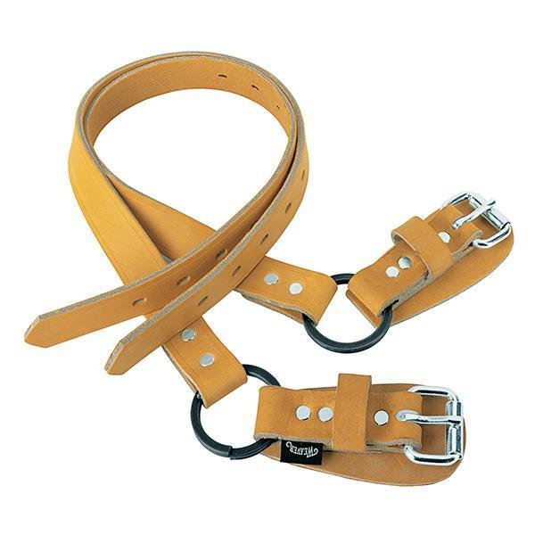 "Split Ring Lower Climber Straps, 26"" Leather"