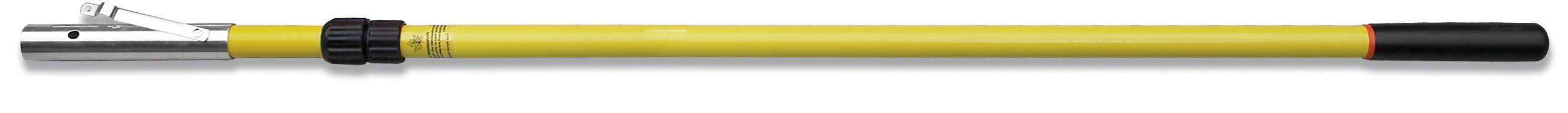 12' telescopic pole with female ferrule and rubber end cap FR-12TB