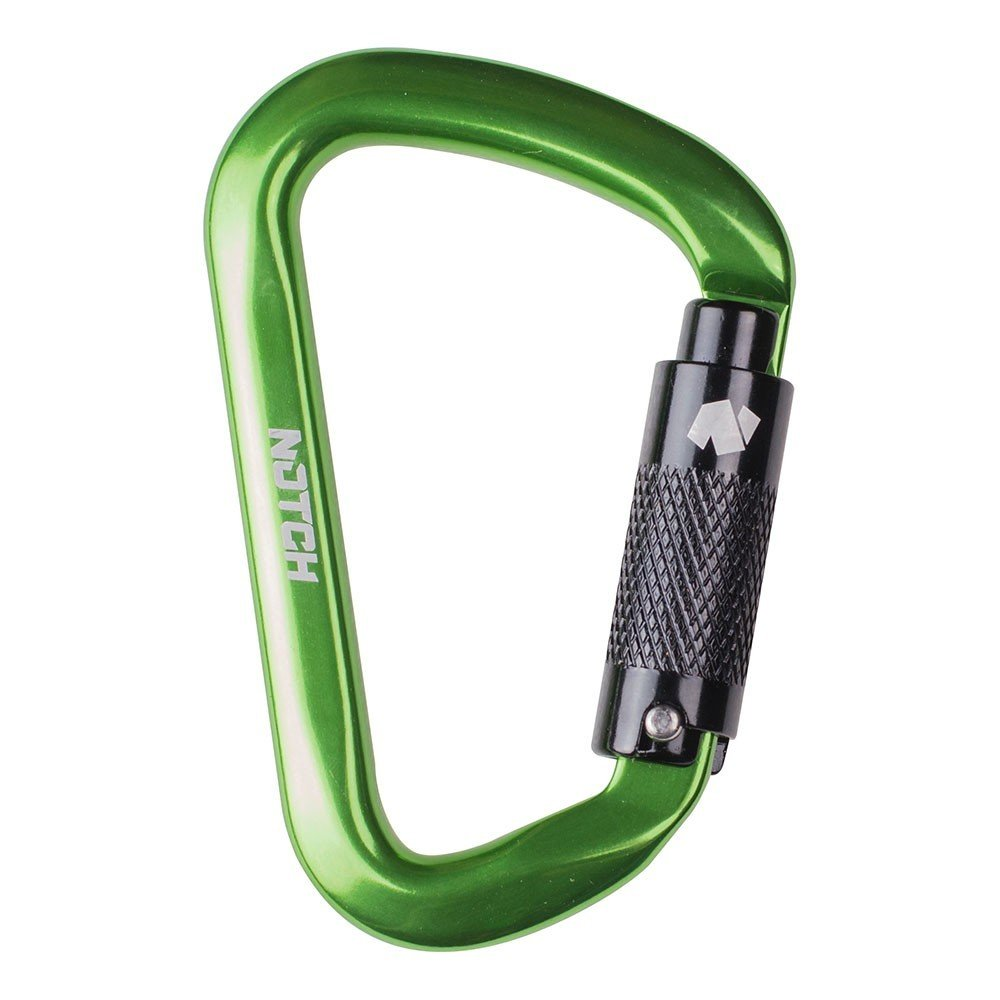 Notch D-Shape Aluminum Carabiner ST-36678